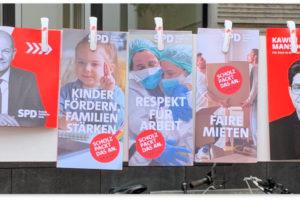 Wahlflyer Bundestagswahl